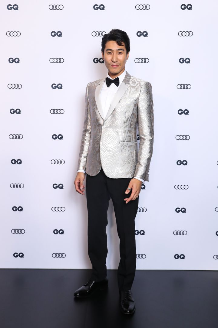Charlie's Angels actor Chris Pang at the 2019 GQ Man of the Year awards in Sydney on Thursday.