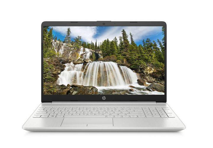 HP 15.6 Inch Slim i3 4GB 128GB FHD Laptop - Silver