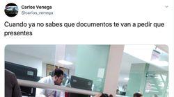 La foto que muestra la solución de una mujer para no olvidarse ningún documento: 32.000 'me gusta' y