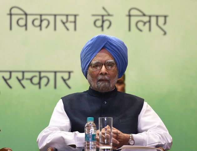 Former Prime Minister Dr Manmohan Singh in a file