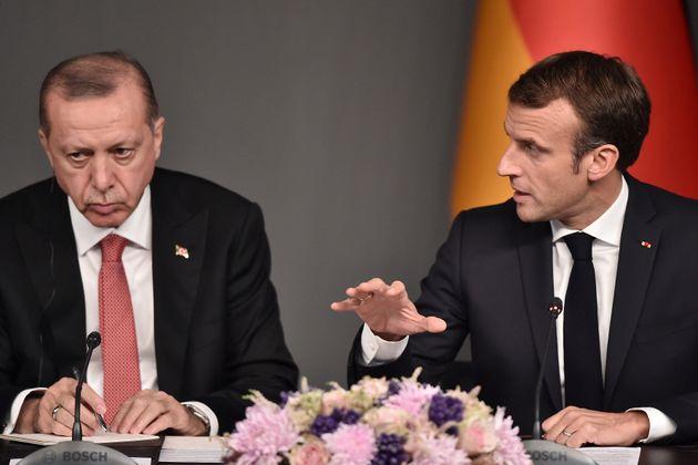 Après les insultes d'Erdogan contre Macron (les deux ici le 27 octobre 2018), l'ambassadeur turc