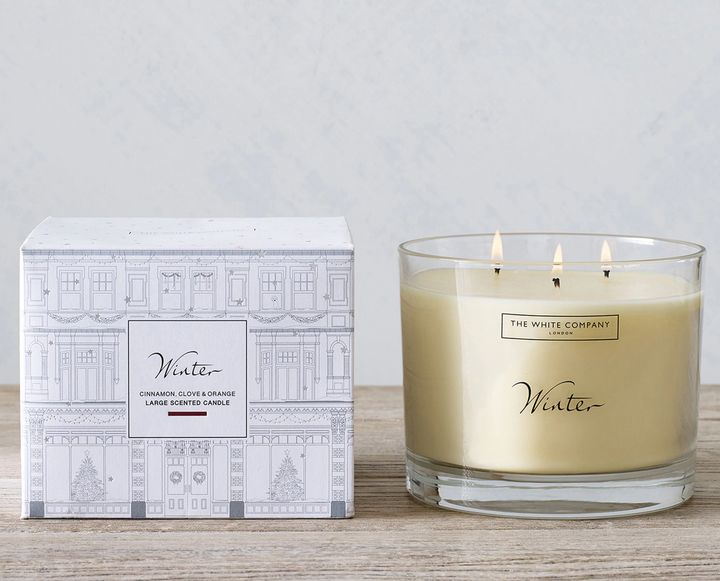 Winter Large Candle, The White Company