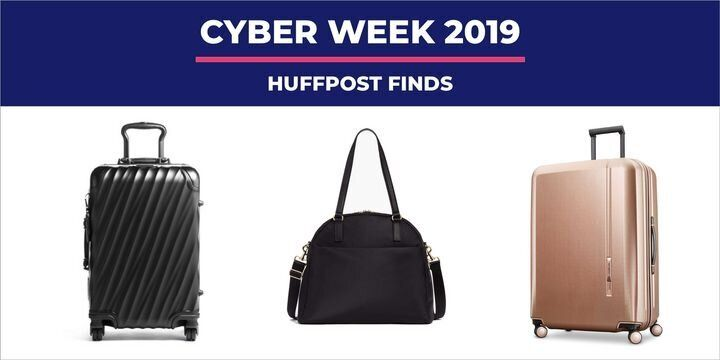 "Whether you're filled with wanderlust or wandering off to a new country, luggage can be a hassle to find even before you're at an airport's baggage claim. Luckily, Black Friday's here so you can snag suitcases on sale. T<a href=""https://www.huffpost.com/entry/black-friday-2019-luggage-suitcase-deals_l_5db37635e4b006d4916eb86d"" target=""_blank"" rel=""noopener noreferrer"">hese deals landed just in time for your next flight</a>.&nbsp;"