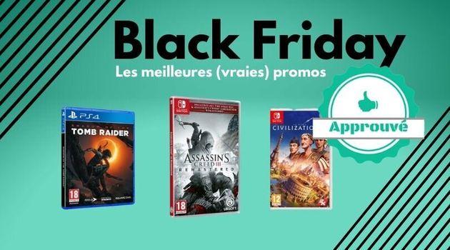 Au Black Friday, est-ce qu'il y a de bons jeux vidéo en promotion aujourd'hui? Le HuffPost fait le tri...