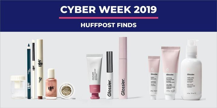 "If you&rsquo;re&nbsp;<a href=""https://www.huffpost.com/entry/the-ultimate-roundup-for-black-friday-and-cyber-monday-2019-deals_l_5db8880ce4b0bb1ea3708b43"" target=""_blank"" rel=""noopener noreferrer"" data-ylk=""subsec:paragraph;g:87fe650d-51c0-3d69-9d63-dbb0b7292929;itc:0;cpos:2;pos:1;elm:context_link"" data-rapid_p=""2"" data-v9y=""1"">all of the Black Friday and Cyber Monday sales</a>&nbsp;to restock your beauty products &mdash; you&rsquo;re doing Cyber Week right. There are so many deals on skin care, hair care and makeup from big and small brands alike, from&nbsp;<a href=""https://amzn.to/2X2PGKV"" target=""_blank"" rel=""nofollow noopener noreferrer"" data-ylk=""subsec:paragraph;itc:0;cpos:2;pos:2;elm:context_link"" data-rapid_p=""3"" data-v9y=""1"">Covergirl</a>&nbsp;to&nbsp;<a href=""https://fave.co/33Ekl3F"" target=""_blank"" rel=""nofollow noopener noreferrer"" data-ylk=""subsec:paragraph;itc:0;cpos:2;pos:3;elm:context_link"" data-rapid_p=""4"" data-v9y=""1"">Bluemercury</a>. The beauty deal we can&rsquo;t stop blushing about?&nbsp;<a href=""https://fave.co/2O393lZ"" target=""_blank"" rel=""nofollow noopener noreferrer"" data-ylk=""subsec:paragraph;itc:0;cpos:4;pos:1;elm:context_link"" data-rapid_p=""5"" data-v9y=""1"">Glossier is offering 20% off everything</a>&nbsp;for Black Friday 2019 &mdash; the same deal the brand offered last year. This year&rsquo;s deal, however, will run from Nov. 29 to Dec. 2, so you can save on all that no-makeup makeup."