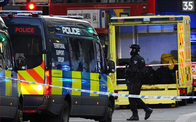 L'attaque à Londres a fait au moins deux morts et plusieurs blessés (photo