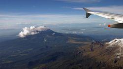 Μεξικανικό ηφαίστειο ανάγκασε πτήση της KLM να κάνει «αναστροφή» για το