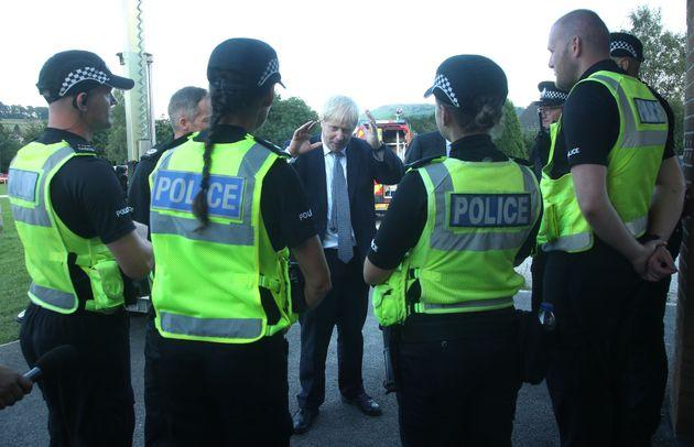 Depuis neuf ans que le parti conservateur de Boris Johnson est au pouvoir, la police britannique a vu...