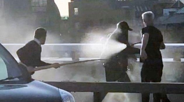 Sur London Bridge, plusieurs passants ont cherché à arrêter Usman Khan, l'auteur de l'attaque à l'arme...