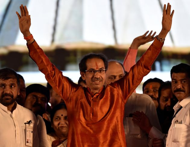 MUMBAI, INDIA - NOVEMBER 28: Maharashtra Chief Minister Uddhav Thackeray during his swearing-in ceremony...