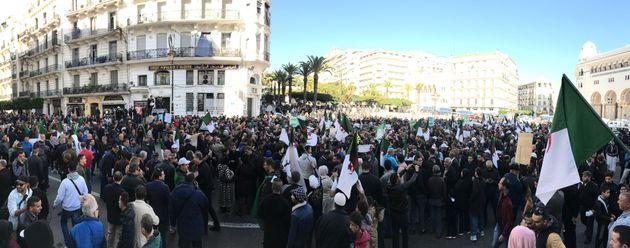 Manifestation pro élection de