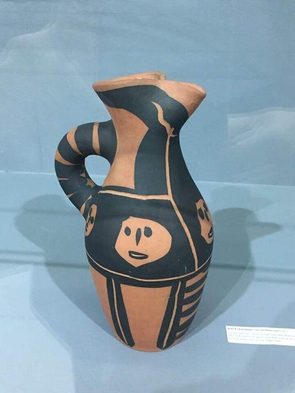 έκθεση Unexpected Dialogue Picasso - Jankulovski, Ceramics - Painting, στο πλαίσιο της Αρτ Θεσσαλονίκη 4