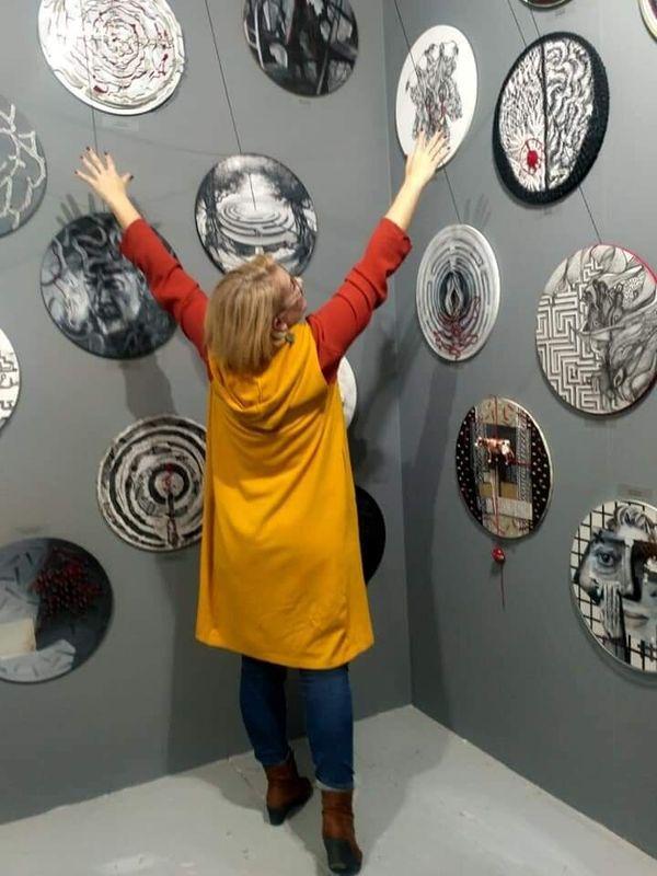 "Art Thessaloniki International Contemporary Art Fair - ""Unexpected Dialogue"" με κεραμικά έργα του Pablo Picasso & ζωγραφικά έργα του Mice Jankulovski από τη συλλογή του μουσείου Museum of Drawing Skopje με την επιμέλεια του Μάνου Στεφανίδη"