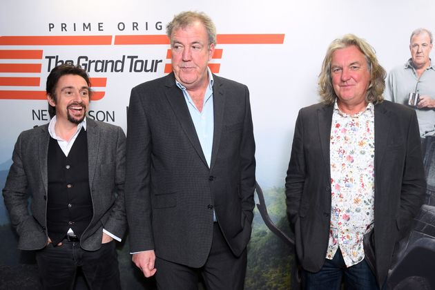 Richard with The Grand Tour co-hosts Jeremy Clarkson and James