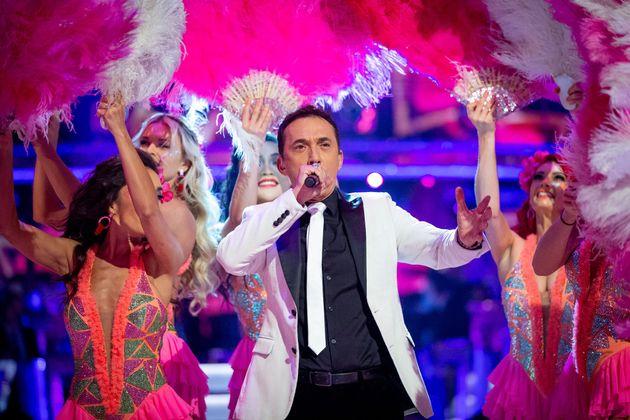 Bruno Tonioli opened last week's Strictly live