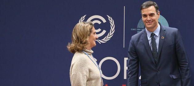 Pedro Sánchez visita la Cumbre del Clima en