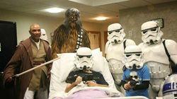 Gravement malade, un Anglais a pu voir «Star Wars IX» avant de