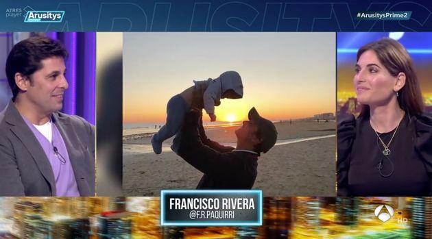 Fran Rivera y Lourdes Montes en 'Arusitys Prime' (Antena