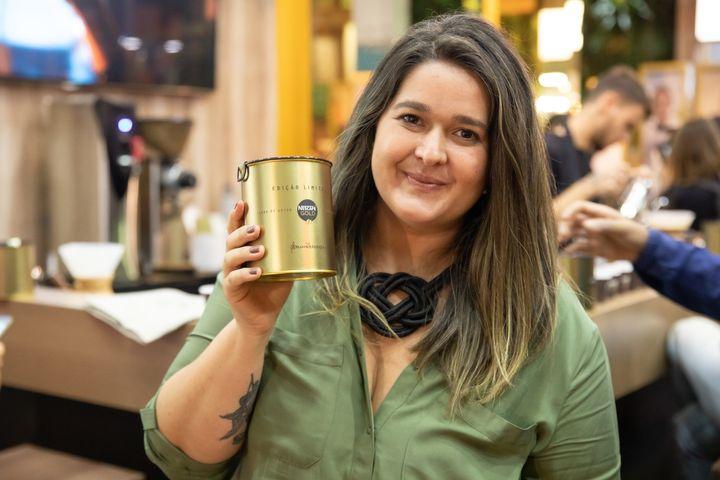 Bruna Mussolini busca valorização das produtoras de café.