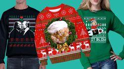 Les pires pulls de Noël avec Trump, Poutine et Kim Jong