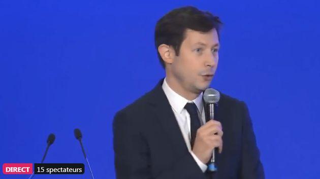 François-Xavier Bellamy, député européen, au Conseil national des