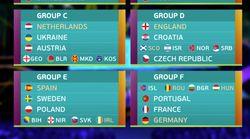 Rivales asequibles para España en el sorteo de la Eurocopa