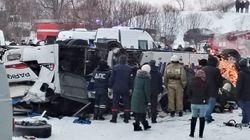 Ρωσία: Δεκαεννέα άνθρωποι νεκροί μετά από πτώση λεωφορείου σε
