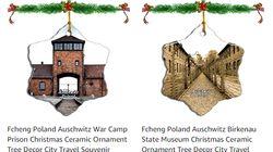 Le mémorial d'Auschwitz demande à Amazon de retirer de la vente des décos de Noël à l'effigie du