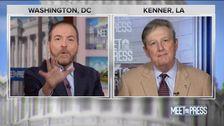 Το NBC Chuck Todd Μαλώνει ΔΑΠ Γερουσιαστής Για την Ώθηση Russian Talking Points