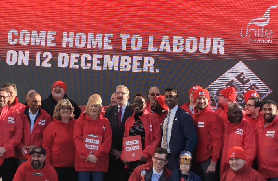Len McCluskey launches Unite's 'Come Home To Labour'