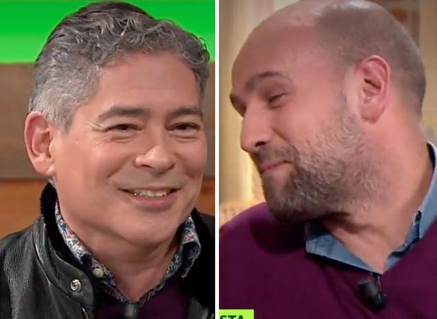 Boris Izaguirre y Gonzalo Miró en 'Liarla