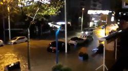 Inondations, crues, coulées de boue... les images de la Côte d'Azur à nouveau sous