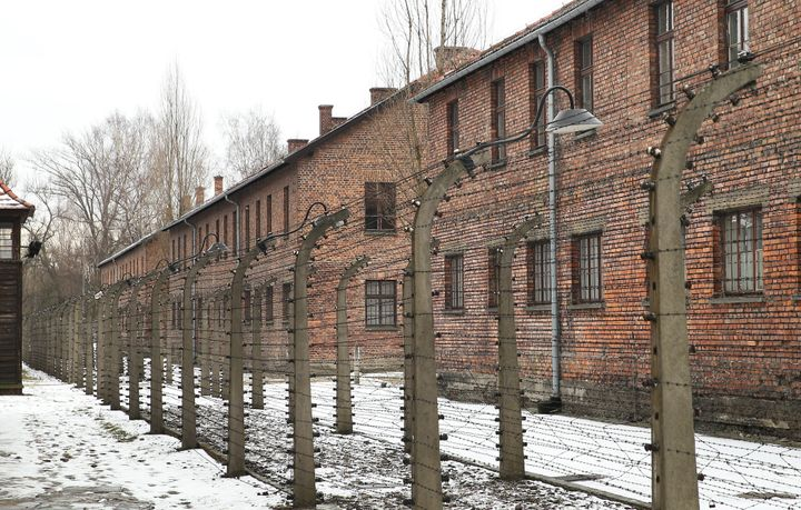 Auschwitz, the former Nazi concentration camp.