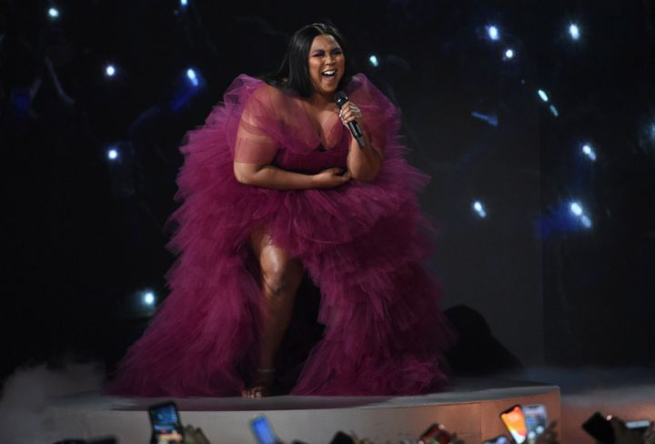 Another Australian show for Lizzo has been announced - the singer pictured here at the American Music Awards on Sunday, Nov. 24, 2019, at the Microsoft Theater in Los Angeles.