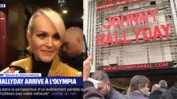 Laeticia Hallyday, ses proches et des milliers de fans à l'Olympia pour un hommage à