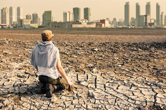 Recreación hipotética de cómo sería una ciudad tras un apocalipsis