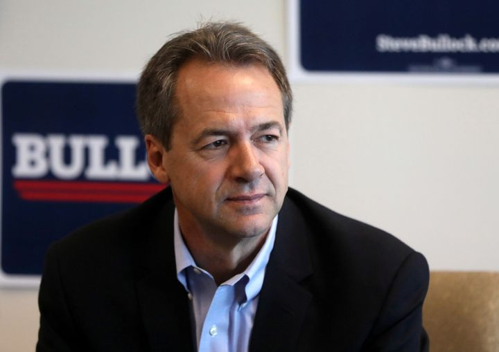 Democratic Montana Gov. Steve Bullock is dropping out of the 2020 presidential race.