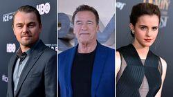 Emma Watson, DiCaprio et Schwarzenegger dans une