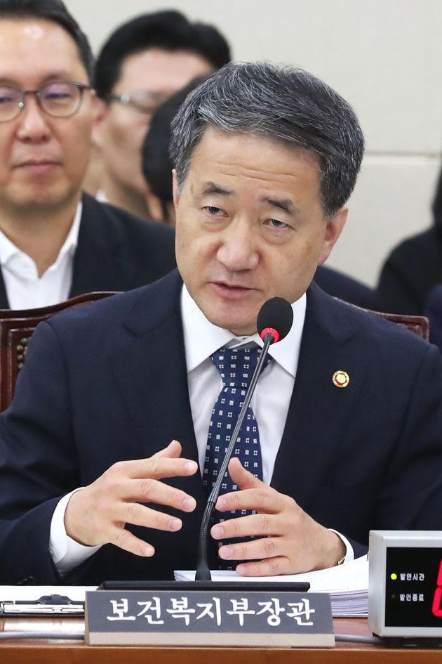 복지부 장관이 '성남 어린이집 성폭행' 파문에 대해 한