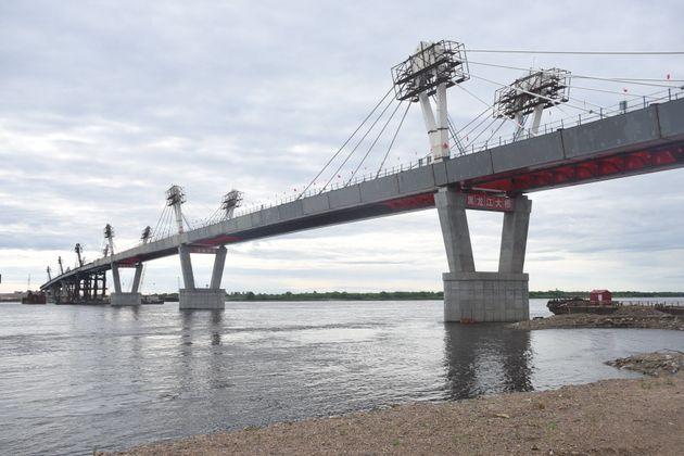 Ετοιμη η γέφυρα 1.080 μέτρων που ενώνει την Ρωσία με την