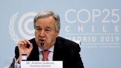 자연과의 전쟁을 멈춰야 한다 : 유엔 사무총장이 기후변화 대응을