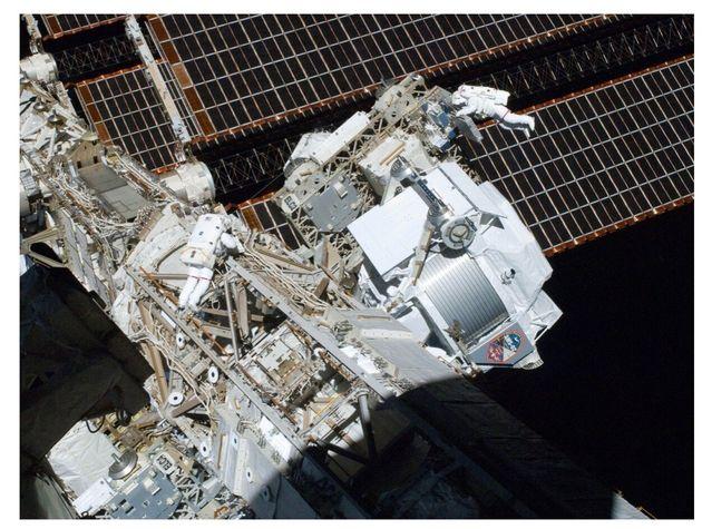 Figura 1: AMS-02 opera sulla Stazione Spaziale Internazionale dal 2011