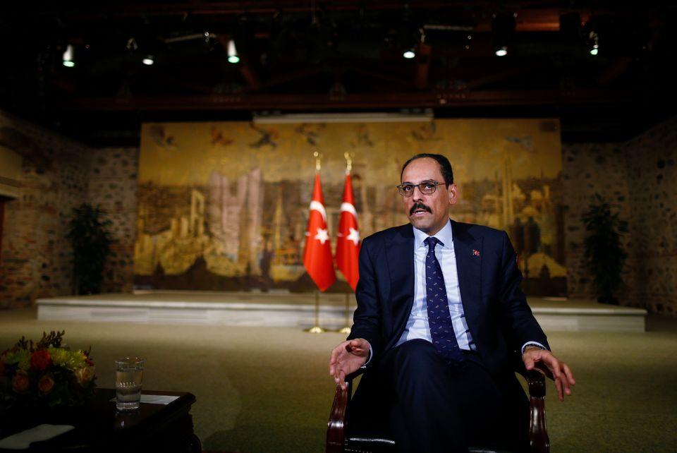 Ο εκπρόσωπος της τουρκικής προεδρίαςΙμπραήμ Καλίν
