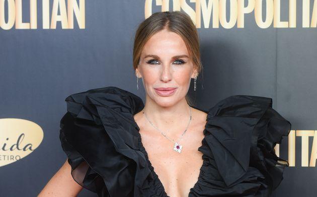 La actriz Carola Baleztena, en los premios Cosmopolitan el 24 de octubre de