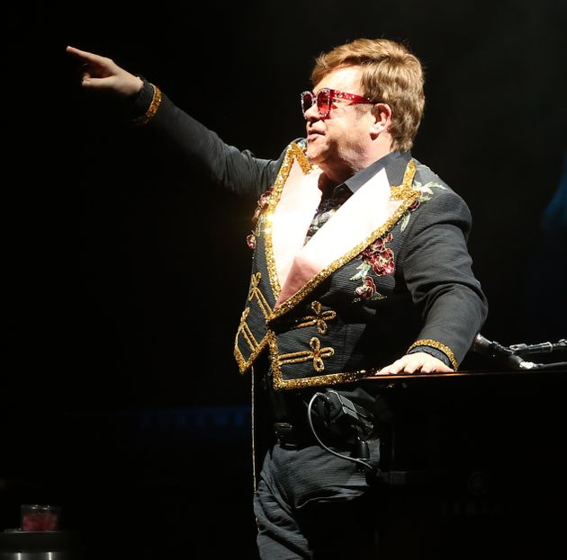 Elton John Labels Security 'C***s' For Trying To Eject Female Fan From Gig In Australia