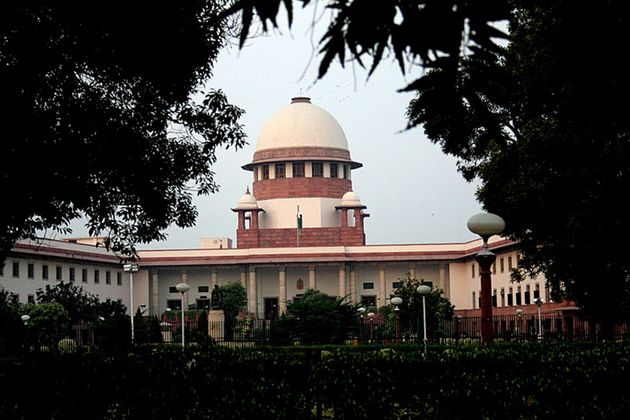 The Supreme Court of India in a file