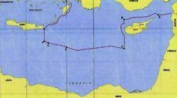 Τουρκικός χάρτης της συμφωνίας με τη Λιβύη εξαφανίζει το