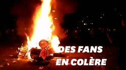 Evanescence annule un concert, des fans furieux incendient la