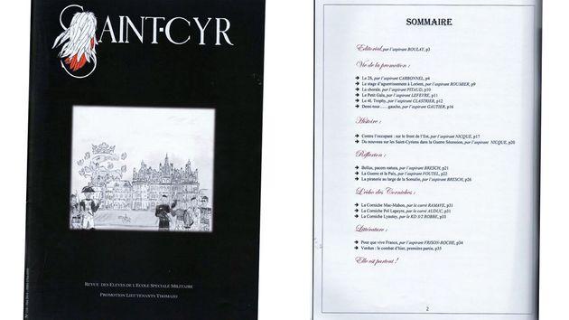 C'est dans cette revue des éleves de l'école spéciale militaire de Saint-Cyr qu'est paru, en 2014, le...