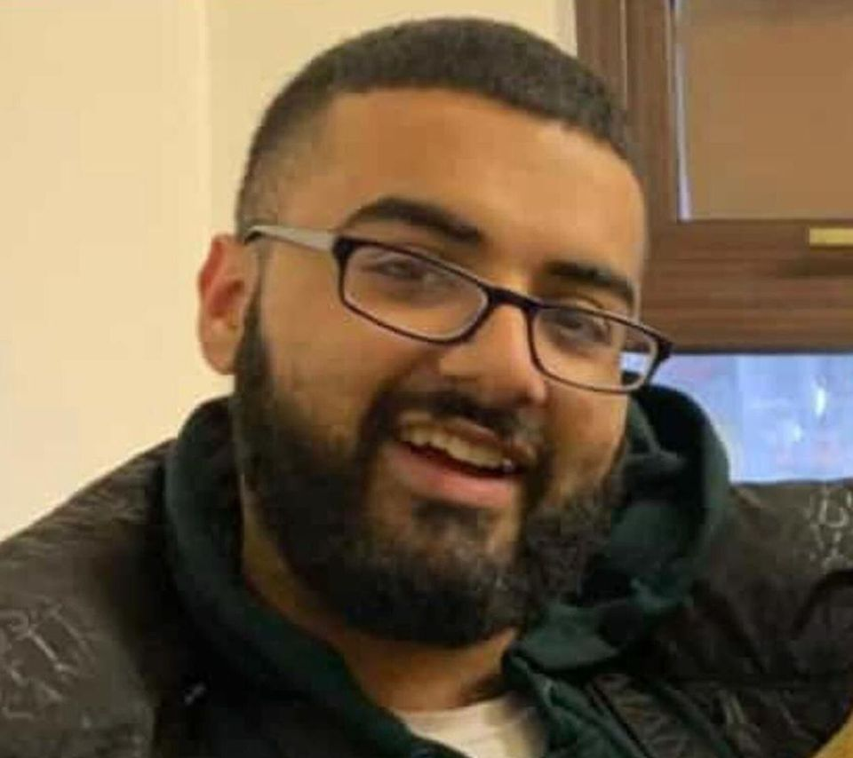 Mohammed Usman Mirza was fatally stabbed outside Owen Waters House,